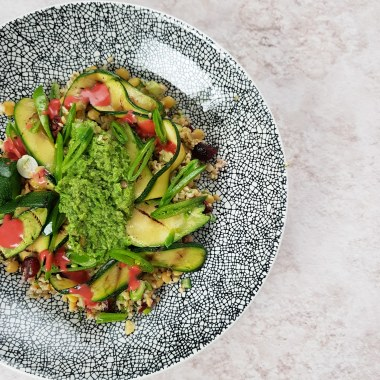 Freekeh, Cranberry and Dill